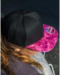Czapka z płaskim daszkiem Bronx Glitter Result Caps