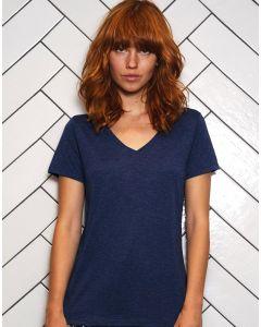 Damska koszulka t-shirt w serek Triblend B&C
