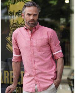 Koszula z długim rękawem Oxford Tailored Washed Russell