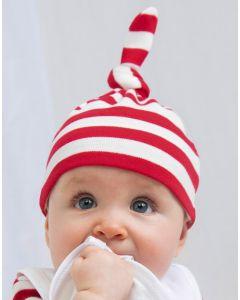 Niemowlęca czapka w paski BabyBugz