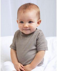 Niemowlęca koszulka w paski Striped BabyBugz