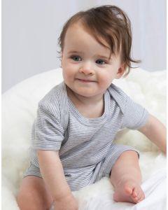 Dziecięce body w paski Striped BabyBugz