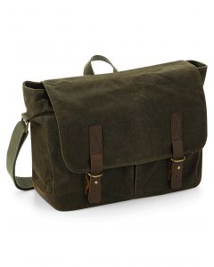 Torba Messenger Heritage Waxed Canvas Quadra