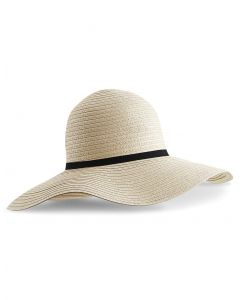 Słoneczny kapelusz Marbella Wide-Brimmed Beechfield