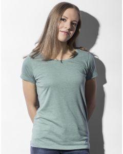 Damska koszulka t-shirt Nancy Triblend Favourite Nakedshirt