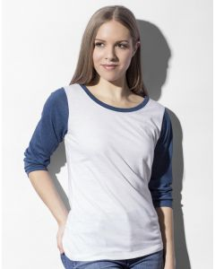 Damska koszulka t-shirt Baseball Jessica Nakedshirt