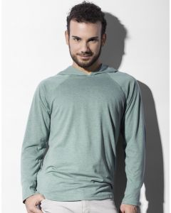 Koszulka z długim rękawem i kapturem Cecil Nakedshirt