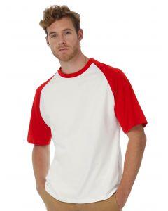 Koszulka t-shirt Base-Ball B&C