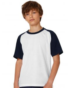 Dziecięca koszulka t-shirt Base-Ball B&C