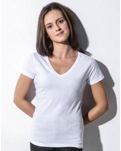 Damska koszulka t-shirt w serek Organic Penny Nakedshirt