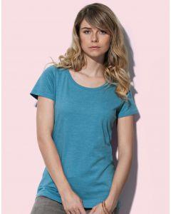 Damska koszulka t-shirt Crew Neck Lisa Stedman