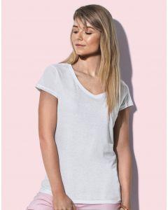 Damska koszulka t-shirt Megan V-neck Stedman