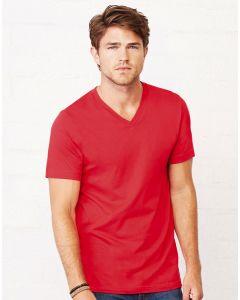 Koszulka t-shirt w serek Jersey Bella+Canvas