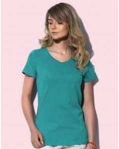 Damska koszulka t-shirt V-neck Sharon Stedman