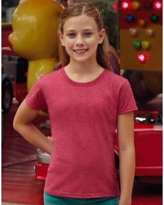 Dziewczęca koszulka t-shirt Valueweight Fruit of the Loom