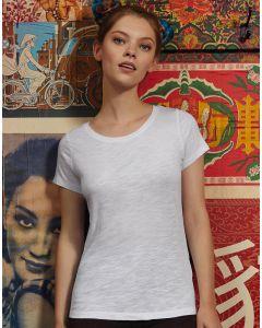Damska koszulka t-shirt Inspire Slub B&C