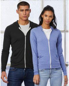 Bluza z kapturem Unisex Triblend Lightweight Bella+Canvas