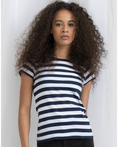Damska koszulka t-shirt w paski Stripy Mantis
