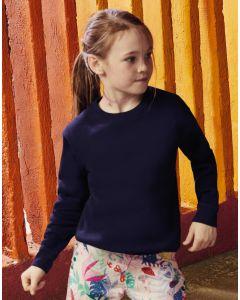 Dziecięca bluza ze ściągaczem Set-in Premium Fruit of the Loom