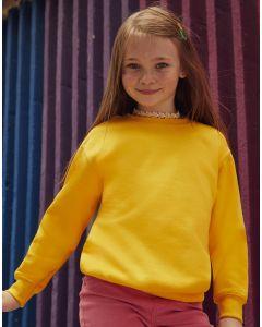 Dziecięca bluza ze ściągaczem Set-in Classic Fruit of the Loom