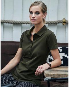 Damska koszulka polo Luxury Stretch Tee Jays