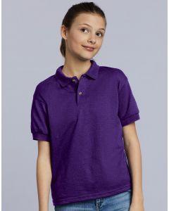 Dziecięca koszulka polo Jersey DryBlend Gildan