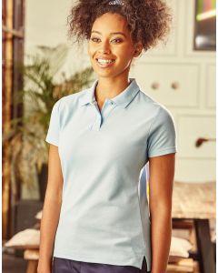 Damska koszulka polo z włókien mieszanych Russell