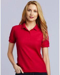 Damska koszulka polo DryBlend Gildan
