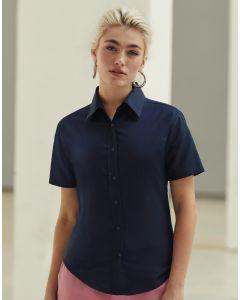 Damska koszula z krótkim rękawem Oxford Fruit of the Loom