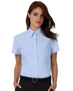 Damska koszula z krótkim rękawem Oxford B&C