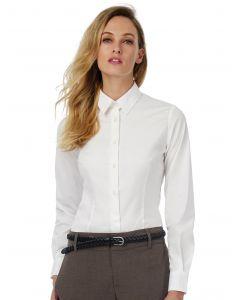 Damska koszula z długim rękawem Black Tie B&C