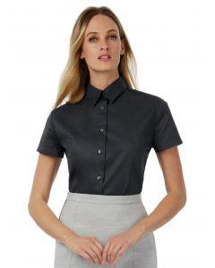 Damska koszula z krótkim rękawem Sharp Twill B&C