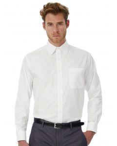 Koszula z długim rękawem Oxford B&C