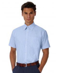 Koszula z krótkim rękawem Oxford B&C