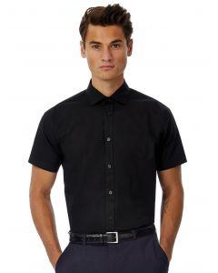 Koszula z krótkim rękawem Black Tie B&C