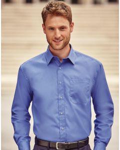 Koszula z długim rękawem Easy Care Poplin Russell