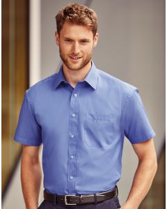 Koszula z krótkim rękawem Easy Care Poplin Russell