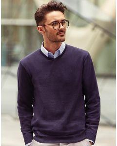 Sweter w serek Russell