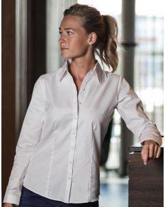 Damska koszula z długim rękawem w 'jodełkę' Russell