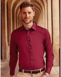 Koszula z długim rękawem Easy Care Fitted Russell