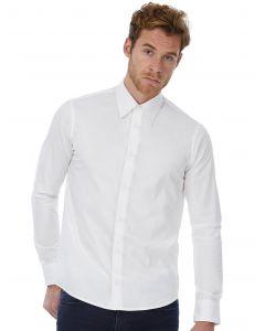 Koszula z długim rękawem London Stretch B&C