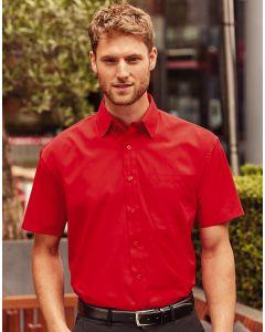 Koszula z krótkim rękawem i kieszonką Russell